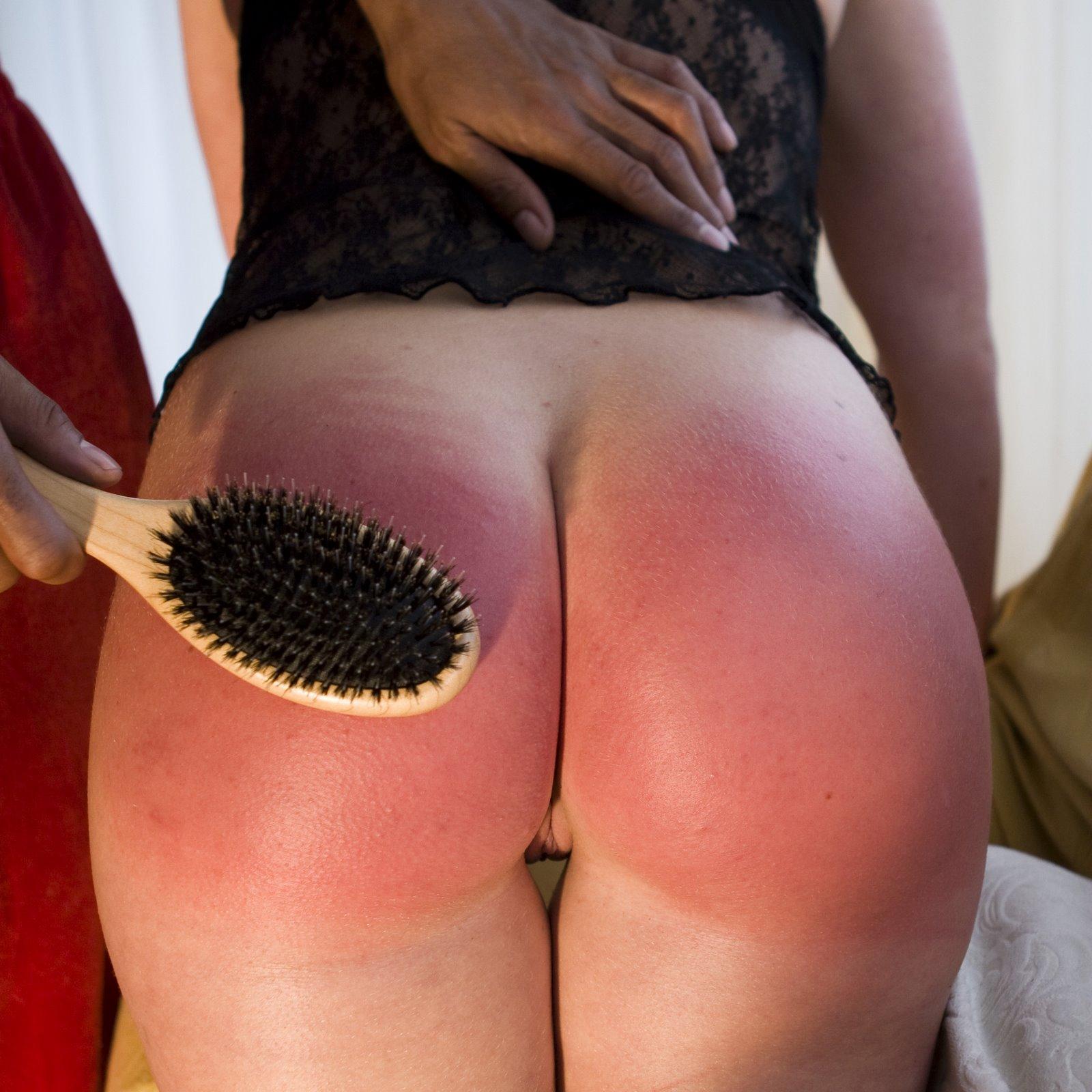 Spanking booty