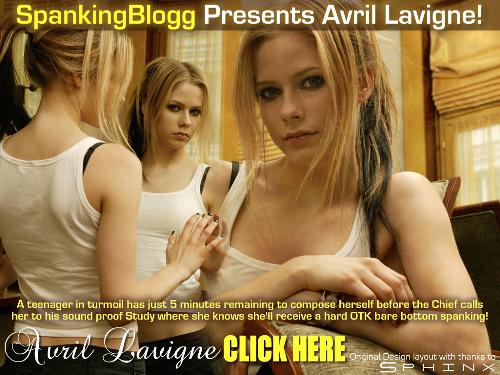 lavigne spanked Avril and