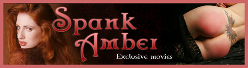 Exclusive FREE SpankAmber Gallery – Amber's fiercesome paddling!