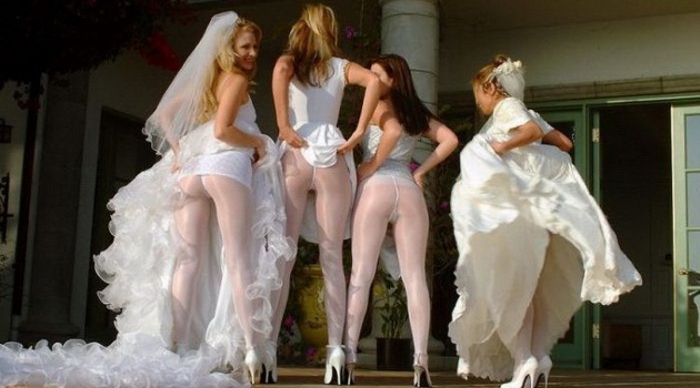 Bridesmaid Butts