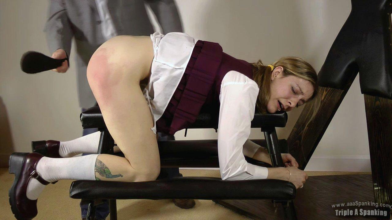 Spanking school girls porn #2