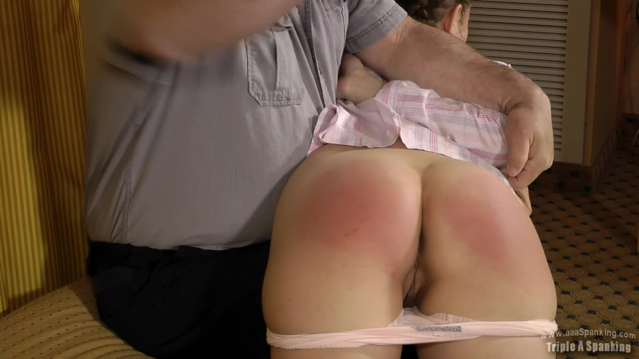 Daddy Spanks Daughters Pussy