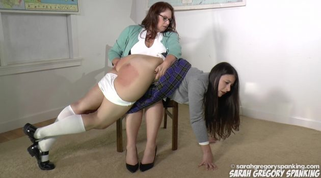 A Spanking at School & a Spanking at Home