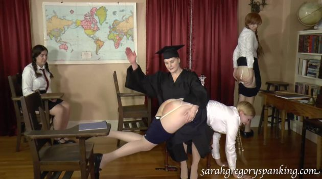 Strictmoor Springbreak Spanking pts 4 & 5