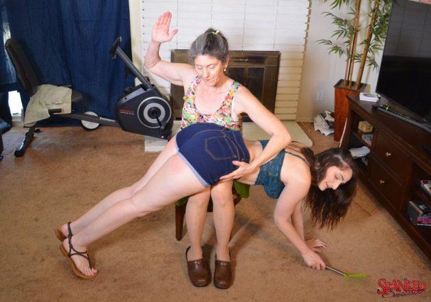 spanking luci lovett