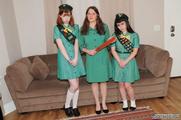 girl scouts spanking