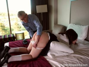 spanked and exposed