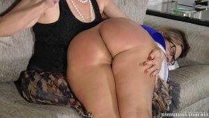 bubble butt spanking