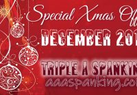 Xmas Loyalty Offer – AAA Spanking
